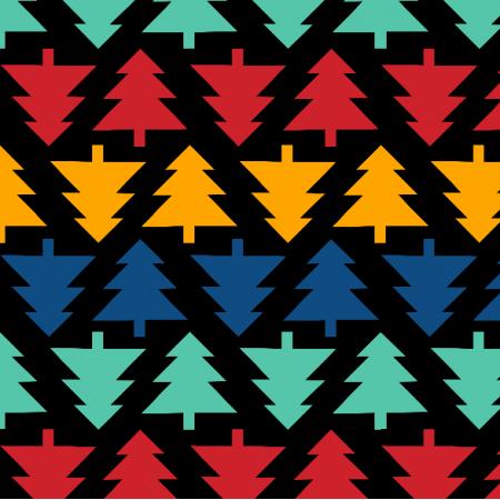 19578 | Choinki geometryczne  small black