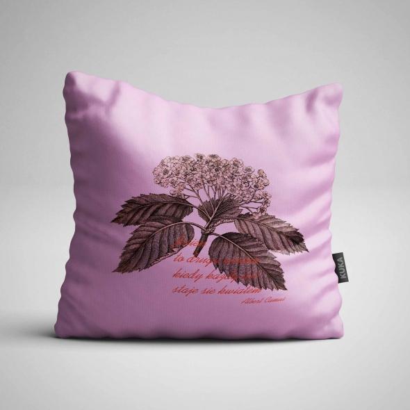 Fabric Pillow panel Autumn Milenial Pink