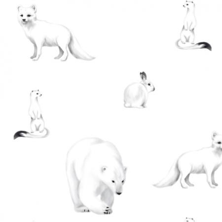 Tkanina 19730 | arctic animals