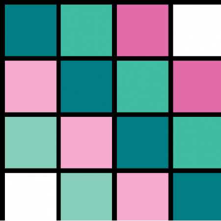 Fabric 19771 | pastelowa kratka xl