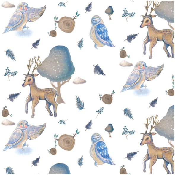 Fabric 19798 | magic forest