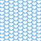 Tkanina 2136 | blue hearts