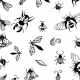 Fabric 19825 | INSECTS
