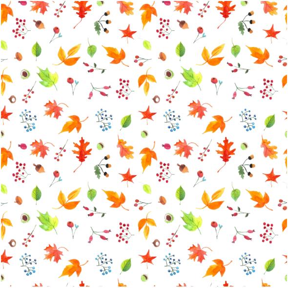 Fabric 19827 | autumn leaves