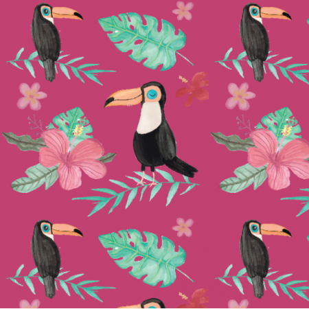 Fabric 19830 | Tropical Fandango with toucan