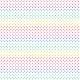 Fabric 19841   teczowe kropeczki / white / small