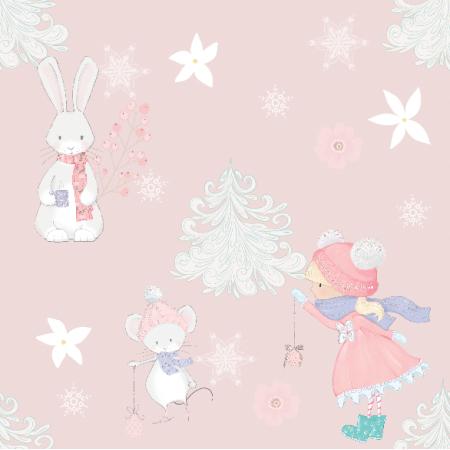19955 | Zimowa kompozycja pink xl