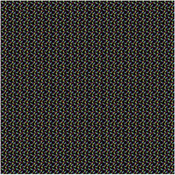Fabric 19990   Teczowe jednorozce small