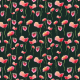 Fabric 20017 | Malowane maki  - akwarele