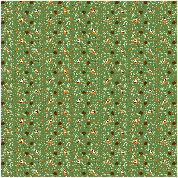 Fabric 20063   leśne śpioszki (wiosna)