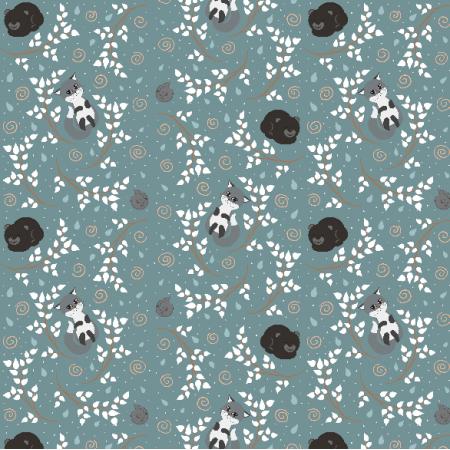 Fabric 20071 | Leśne śpioszki (zima) 2