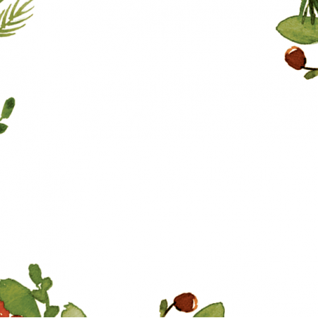 20073   Christmas panel green 48x48 cm