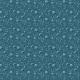 Fabric 20082 | malowane maki niebieskie - blue poppies