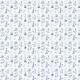 Fabric 20100   BOTANICZNA ŁĄKA NA NIEBIESKO CLASSIC BLUE
