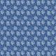 Fabric 20109 | POLNE KWIATY I NIEBIESKIE MOTYLE pANTONE CLASSIC BLUE