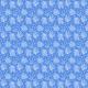 Fabric 20119 | POLNE KWIATY I MOTYLE BIAŁO-NIEBIESKIE