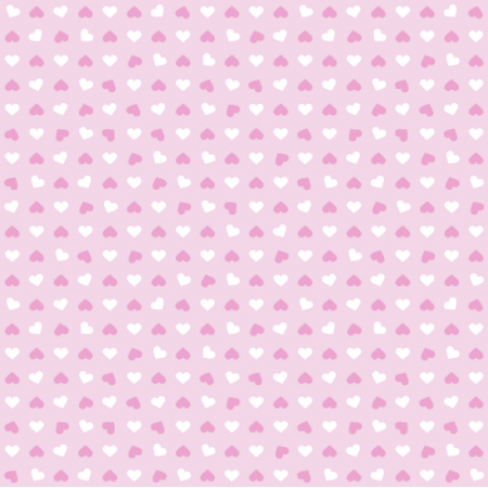 Tkanina 20126 | Serca 1 pink