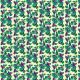 Fabric 20218 | Koliberki (jasne tło)
