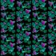 Fabric 20225 | Koliberki (czarne tło) 2