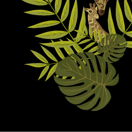 Fabric 20296   Żyrafki