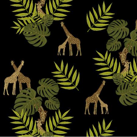 Fabric 20297   Żyrafki 2