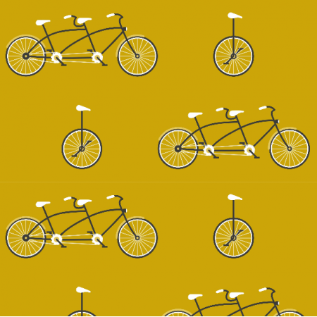 20299 | Mustard bicycles