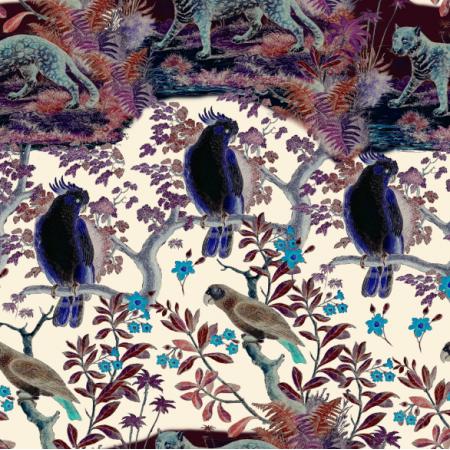 Fabric 20312 | EGZOTYCZNA DŻUNGLA