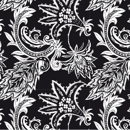 Fabric 20354 | Amiya BLACK