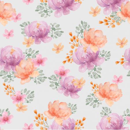 Tkanina 20461 | Flower spring