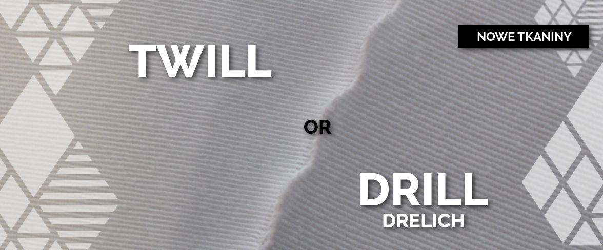 Nadruk na twillu, nadruk na drelichu, tkaniny obiciowe z własnym nadrukiem